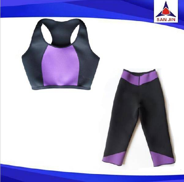 Sauna Pants Women Fitness Wear Neoprene Slimming Pants New Design For Sports Exercise
