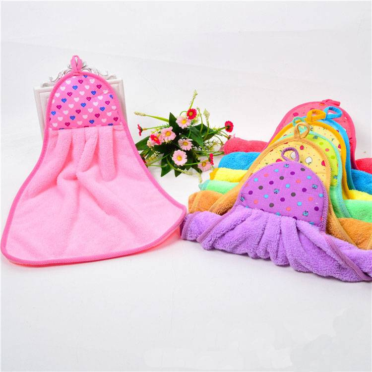 microfiber hanging kitchen hand towel