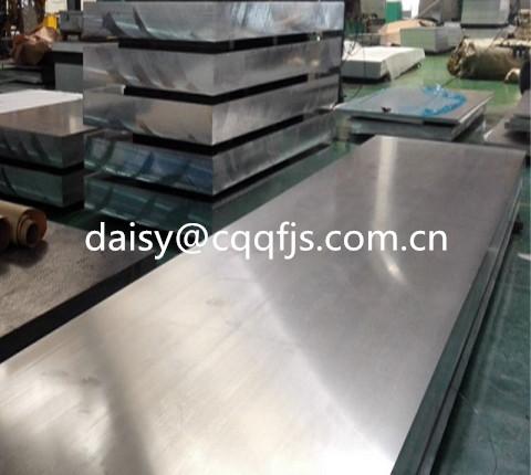 Precision machined cast aluminium sheet 2024