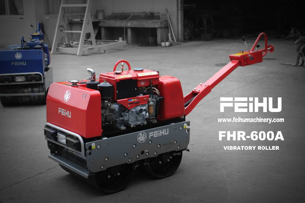 vibratory roller compactor road roller FHR600A