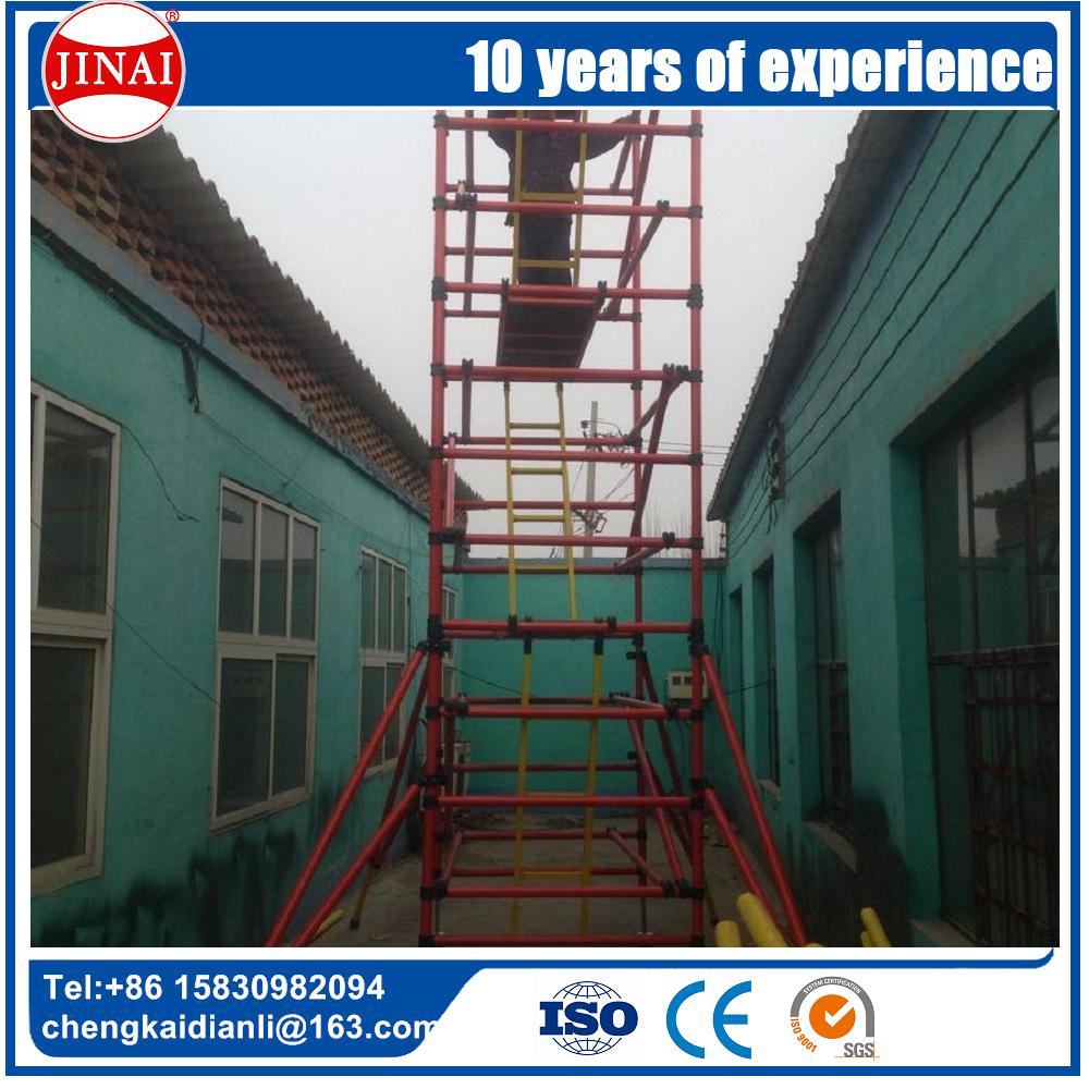 frp fiberglass folding scaffolding