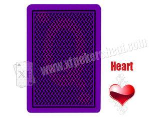 Poker Cheat Copag Texas Hold Em Invisible Playing Cards With UV Contact Lenses Gambling Trick