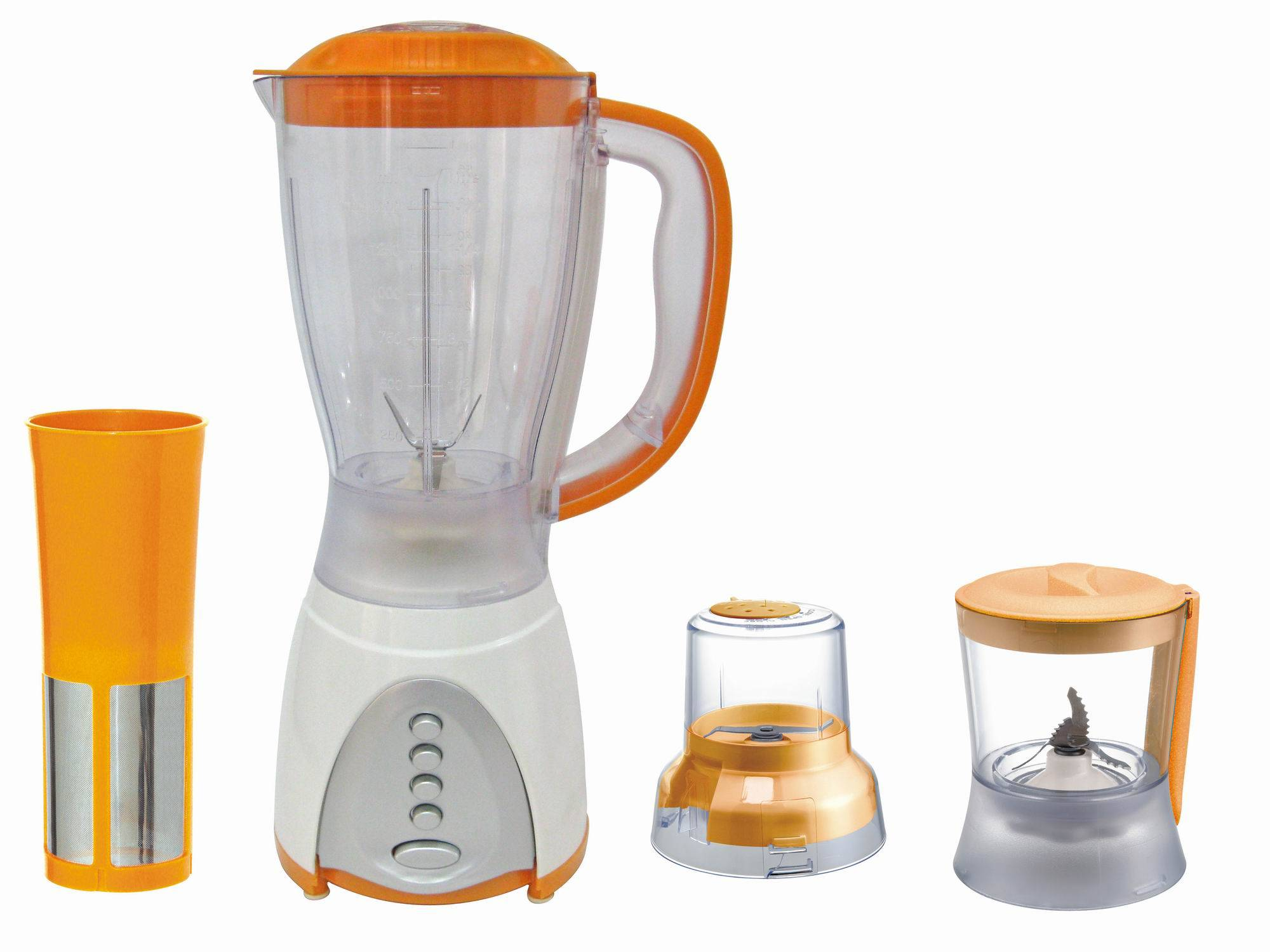 Kitchen Blender With Food Chopper AK-380A 4in1