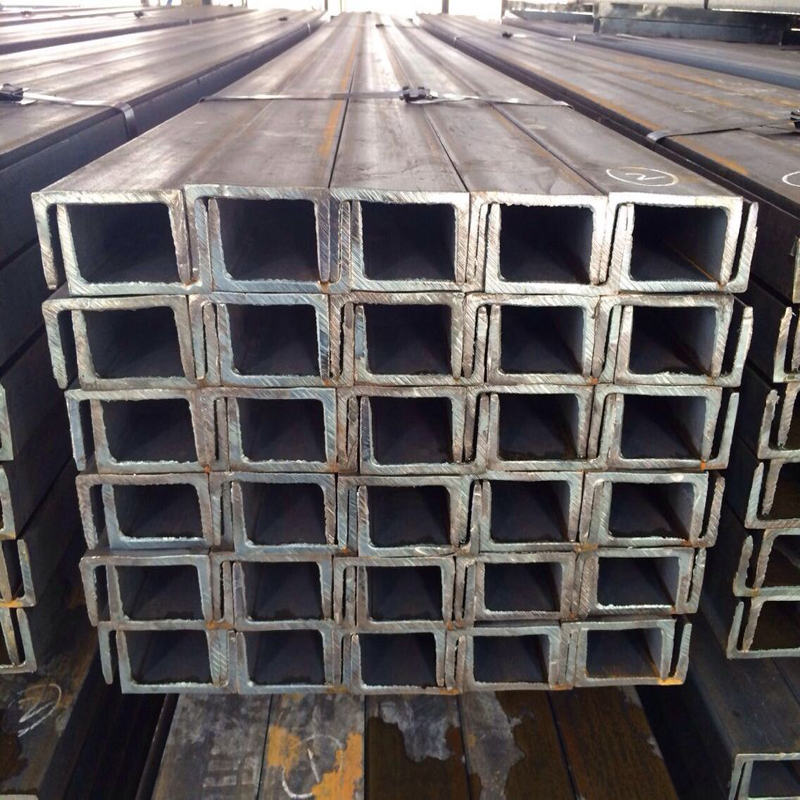 C and U shaped steel channles with stock and customized production channels