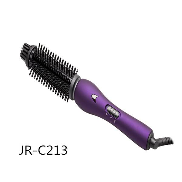 Cool touch Ionic Hot Styling Brush for Hair Care and Beauty