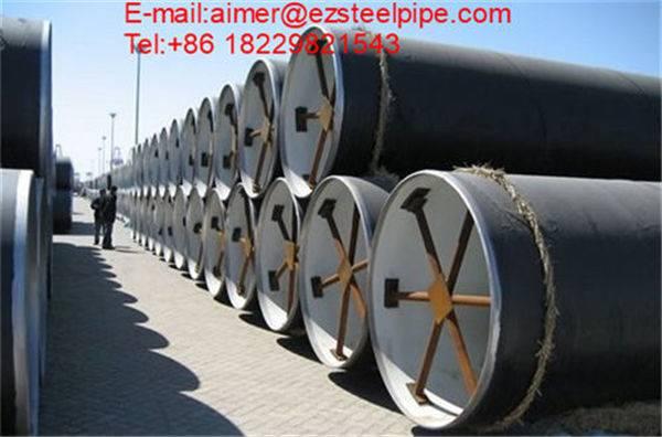 Double Longitude Welded Steel Pile Pipe