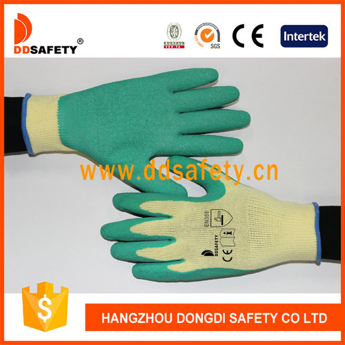 Knitted with latex glove-DKL324