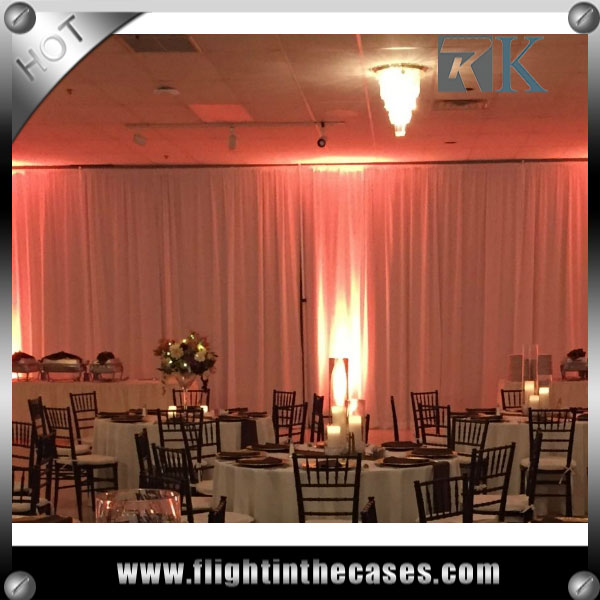 RK wholesale pipe and drape south indian wedding decoration