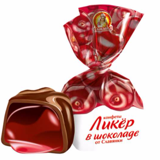 Liker in Chocolate Slavjanka Candies Russia