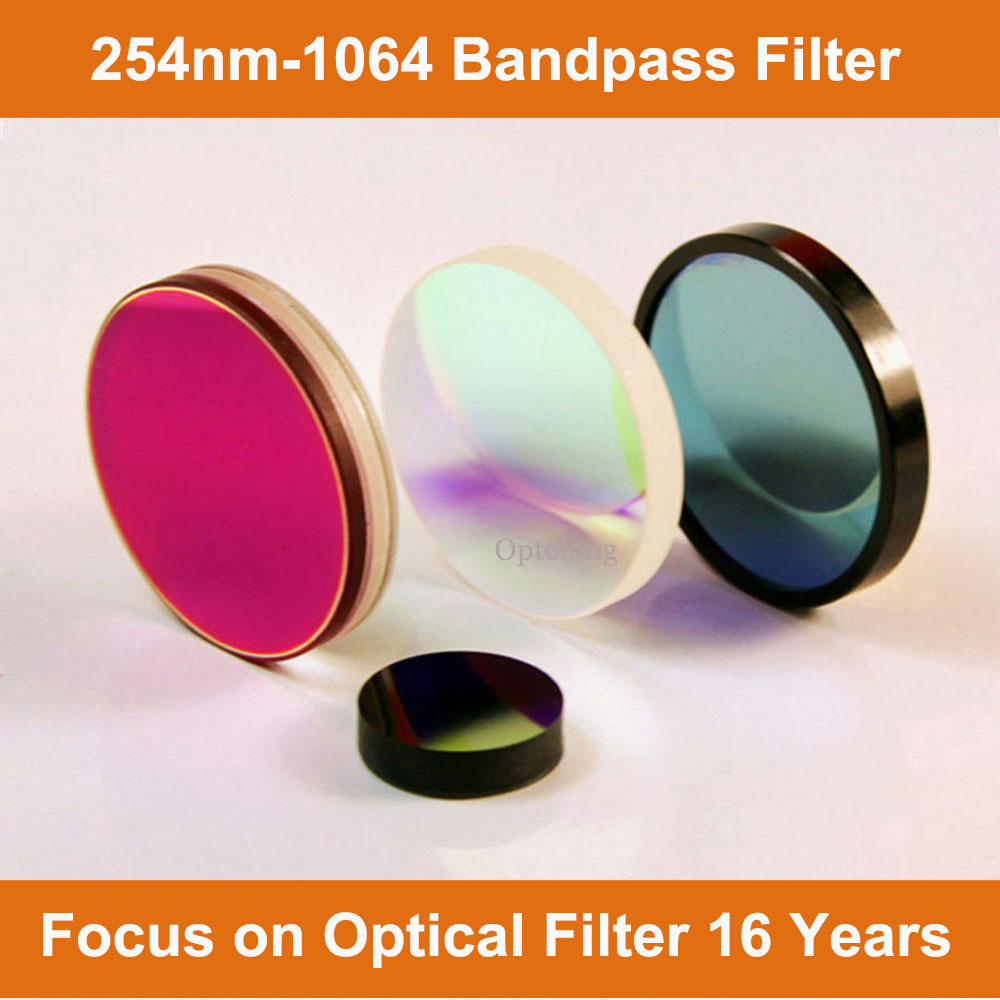 Factory OEM 365nm bandpass for filter the photodegradation reaction instrument