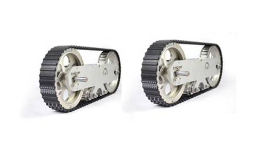 A set of large tracked wheel(Tank wheel) 2pieces 14152