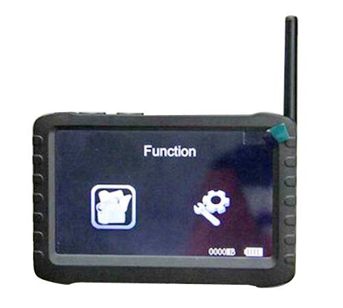 YSJ-TE968H handheld battery powered  5.8GHz wireless lcd receiver dvr for rc helicopter, robotics