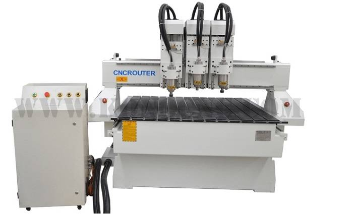 3 spindles cnc router machine 1325-3