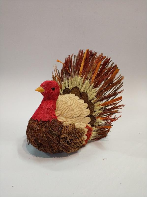 natural turkey decoration