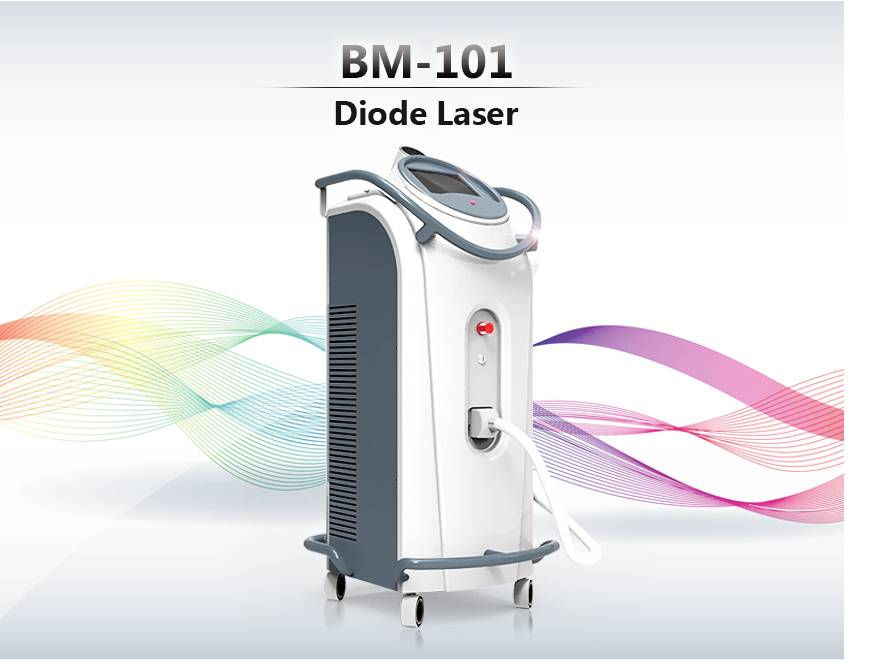 Diodo Laser Hair Removal Machine / 808nm Diode Laser /50~80 million Shots