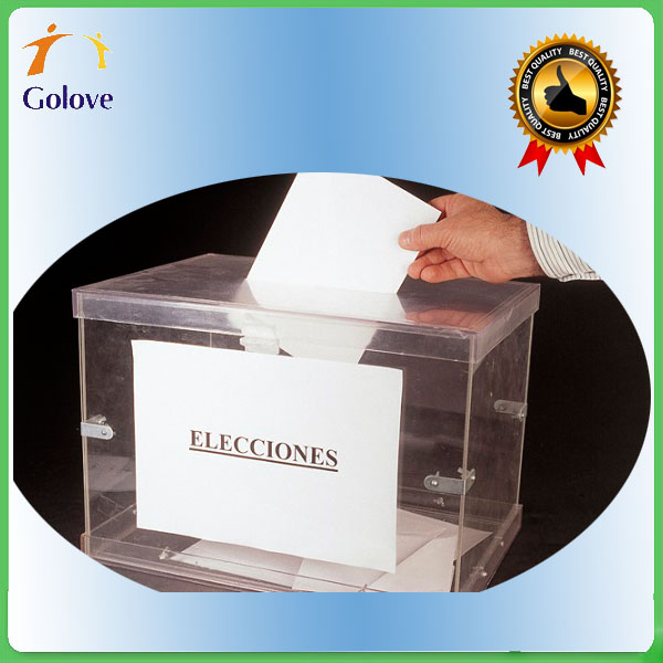 Accept Customized Order and Plastic Material PP Ballot Boxes