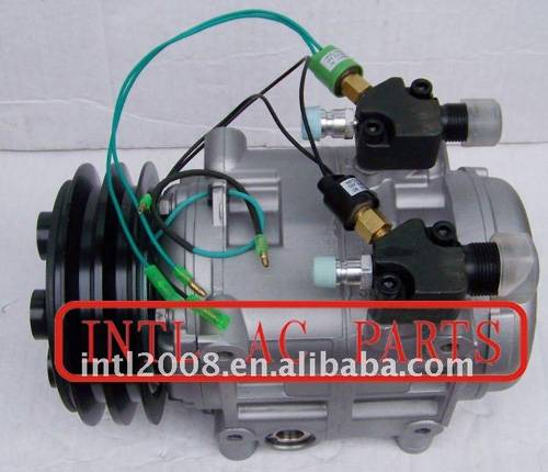 DKS32 AUTO A/C COMPRESSOR WITH Control Valve FOR DKS32 BUS 2PK