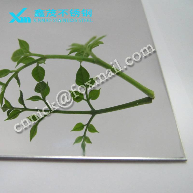 201,304 grade 8k mirror stainless steel sheets for decoration