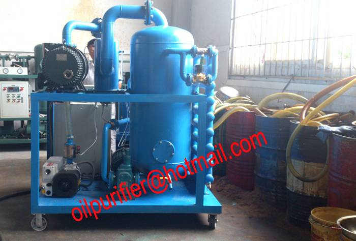 Reliable Performance Aged Transformer Oil Processing equipment,Cleaning and Recovery Unit