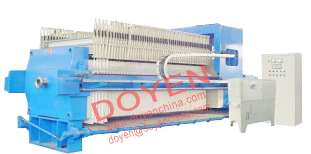 PP membrane filter press in quick opening and high pressure
