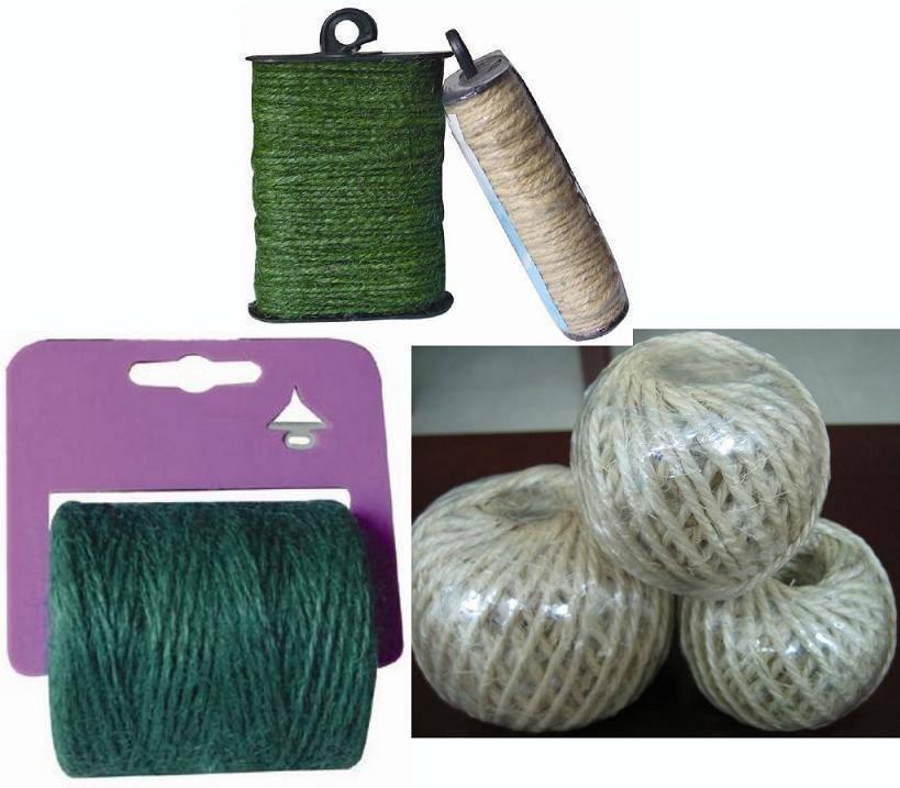 Jute/sisal/dyed twine
