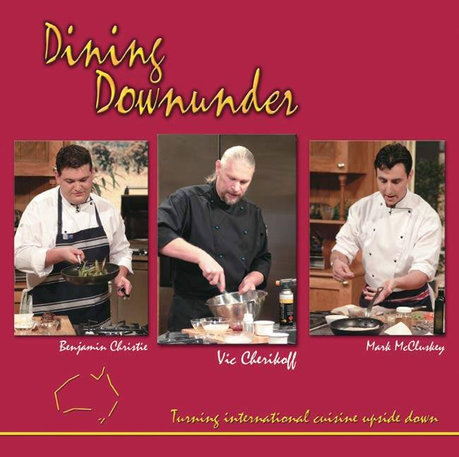 Dining Downunder Cookbook with Australian spices and seasonings