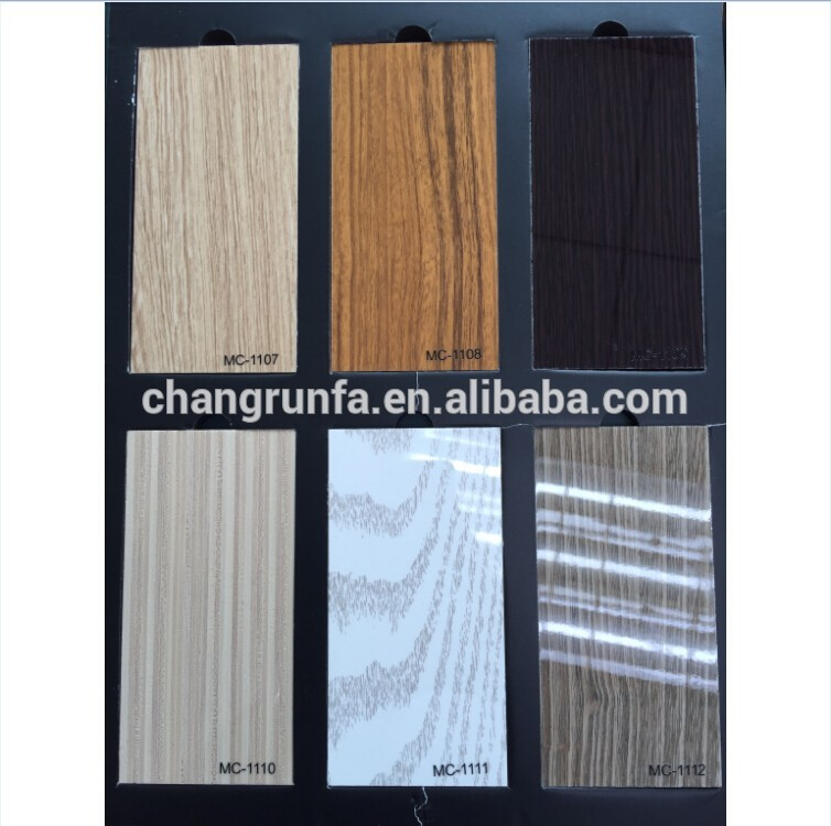 wood veneer with uv coating