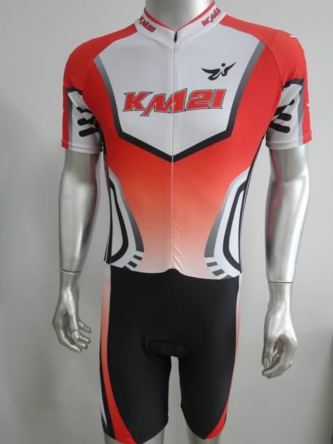 Short sleeve speed skating suit