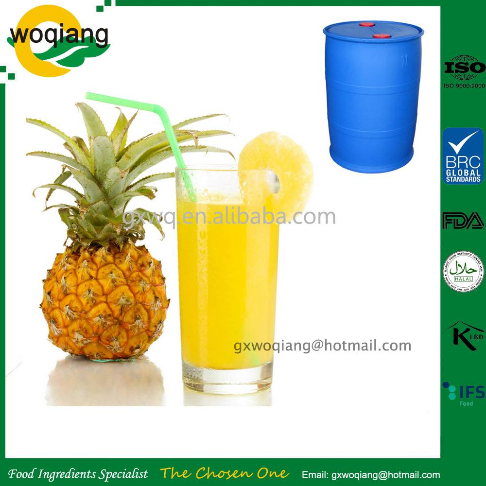 Pineapple concentrate juice
