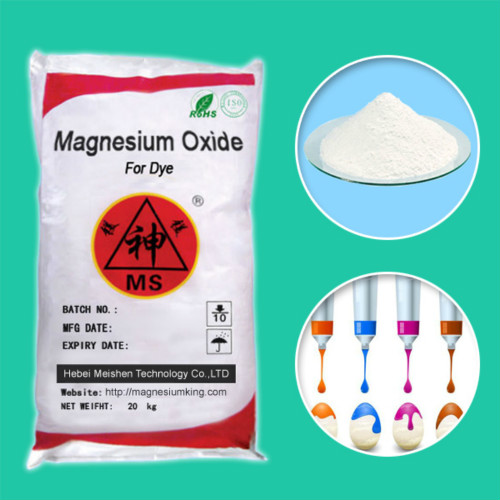 Magnesium Oxide for Dye