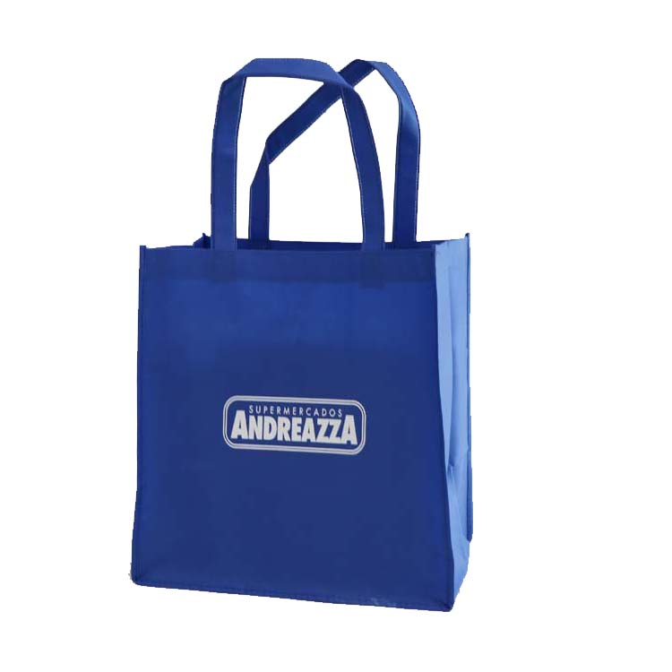 China Yiwu Pp Biodegradable Shopping Rope Handle Newspaper Reusable Promotional Non Woven Bag