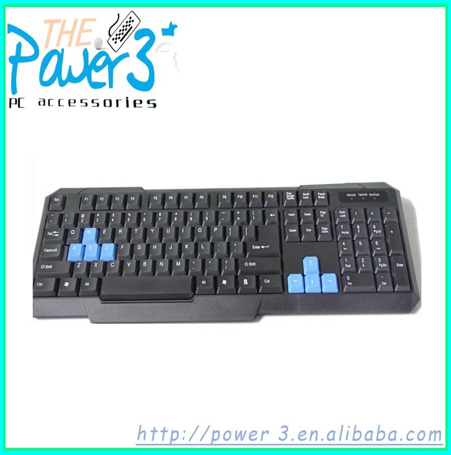 Standard Russian wired desktop keyboard