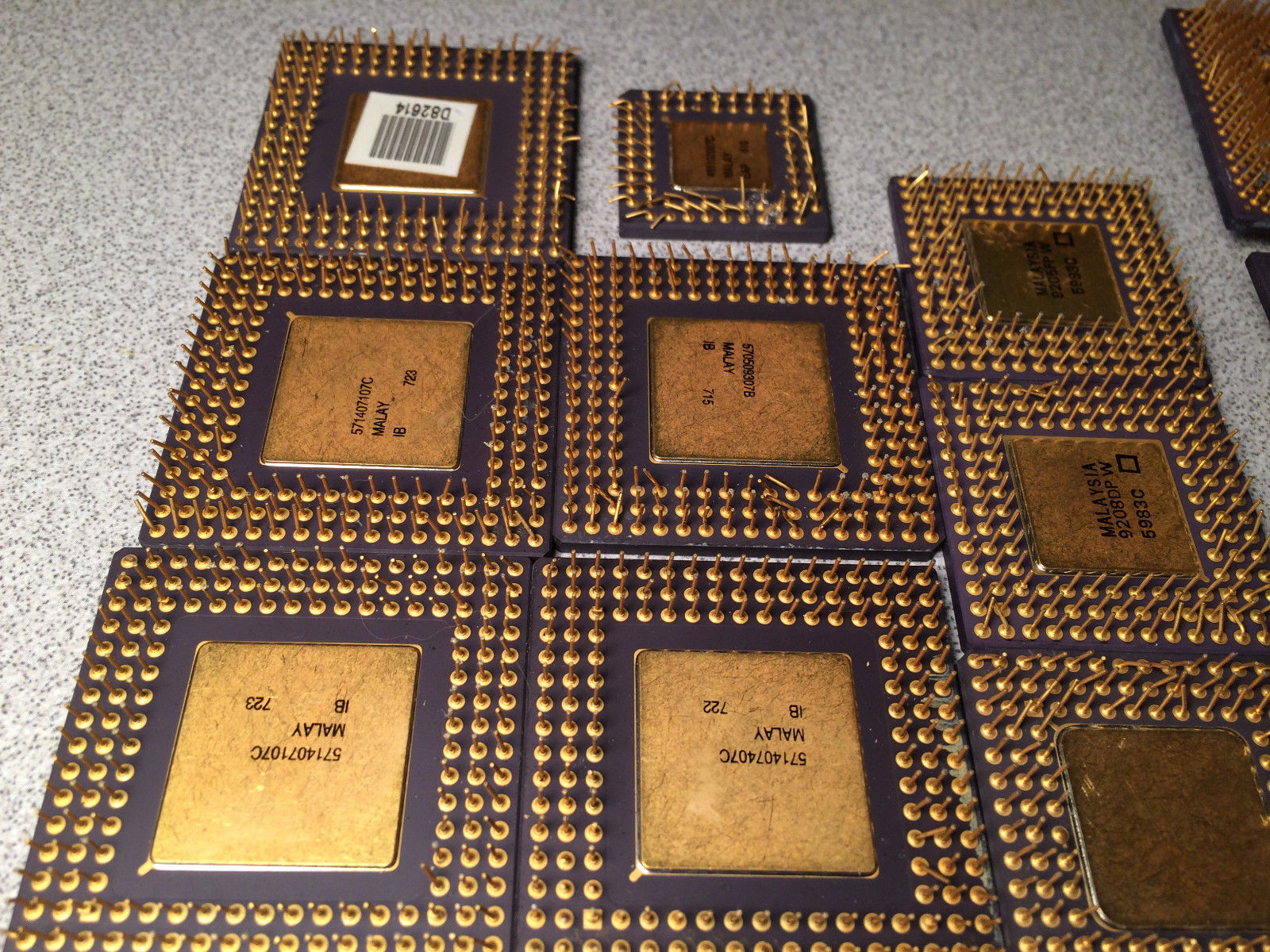 Intel Pentium Pro processers for gold recovery