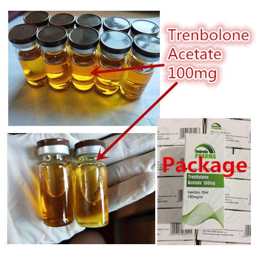 Trenbolone Acetate 100mg finished injectable steroid golden tint