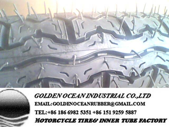Euro Grip Pattern Motorcycle Tire 300-17 300-18 for Kenya Market
