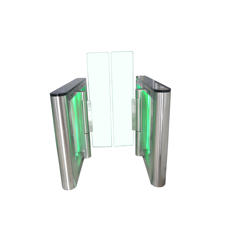 Retractable Automatic high speed gate with RFID Access Control system
