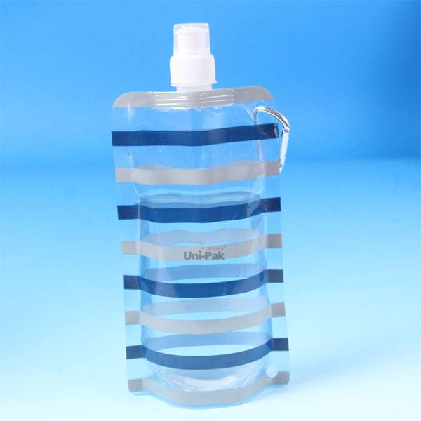 Stand up water packaging pouches