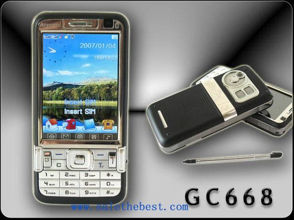 Dual card dual band mobile phone(S-GC668)