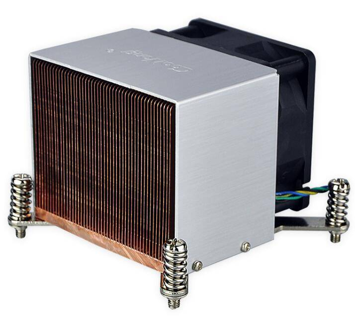 2016  Copper heat sink for Intel