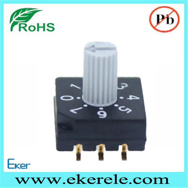 10 Position Rotary Switch Mini Rotary Dip Switch
