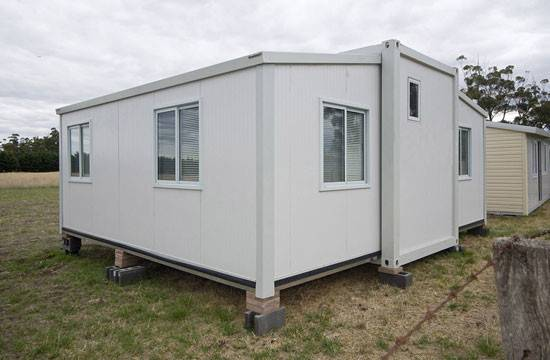 Holiday Living Prefabricated Container House Building