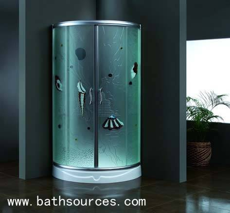 shower room /shower enclosure/shower cabin/shower cubicle/shower housewith 6mm toughened empaistic g