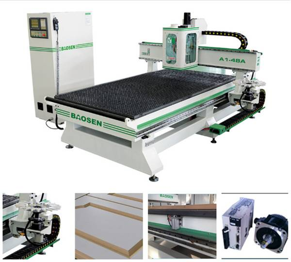 A1-48A CNC MACHINE FOR WOODWORKING