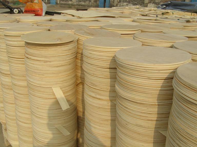 plywood reel flange