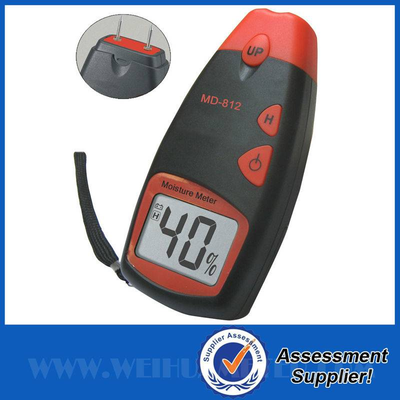 Best Selling Wood Moisture Meter With ROHS Certificate MD812