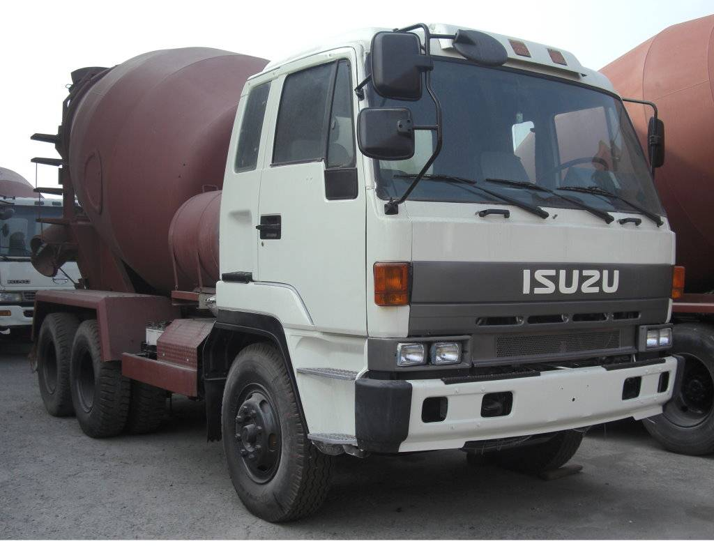 Used ISUZU Mixer Truck -(3G-060)