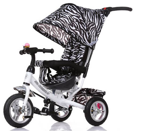 QJ-521 4 in 1 tricycle for 2 to 5 years old with parent handle  Qiangjiu Bicycle Group