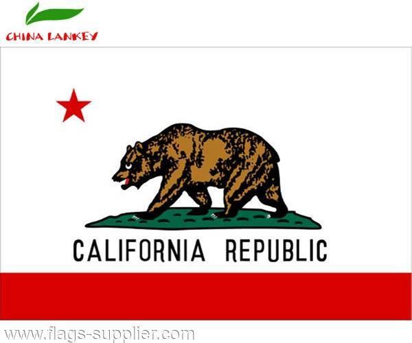Wholesale Hot Sale American State Flag California