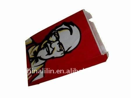KFC paper bag making machine