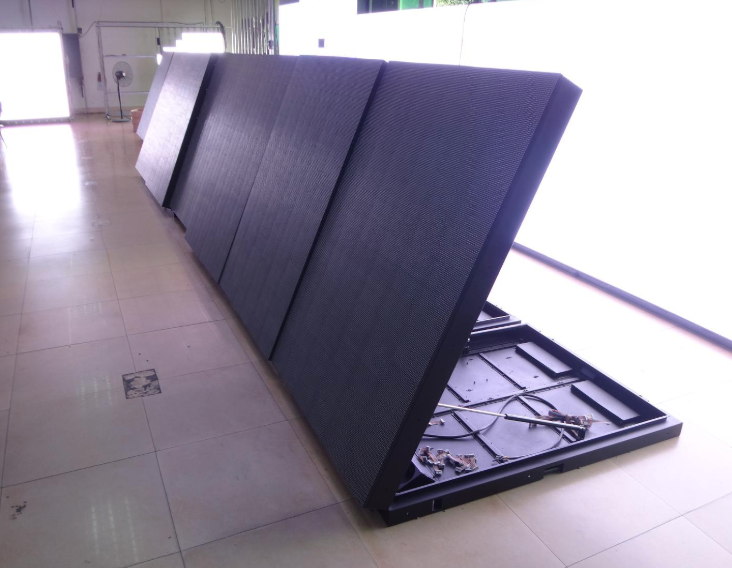 Back Maintenance Fixed Outdoor LED Screen display